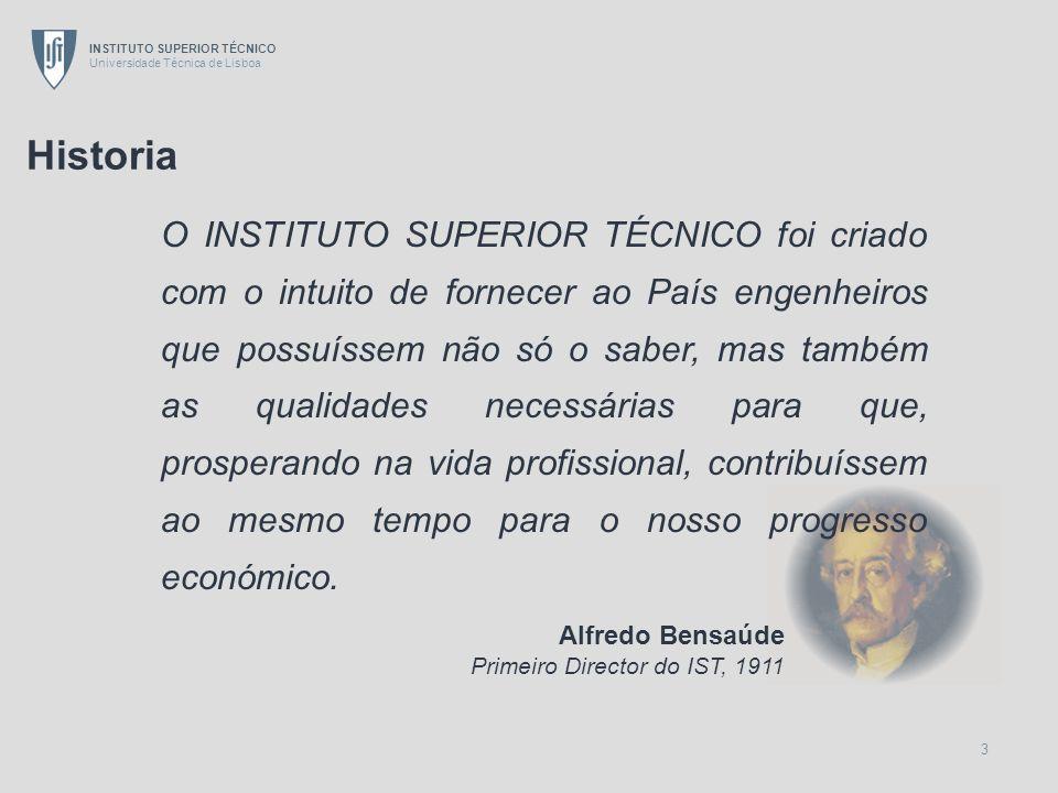 INSTITUTO SUPERIOR TÉCNICO Universidade Técnica de Lisboa 4 Timeline N.º DE CURSOS DURAÇÃO DOS CURSOS NÚMERO DE ESTUDANTES DE GRADUAÇÃO EDIFICAÇÕES 351 287 720 10501061 8186 6288 5733 3955 19111920193019401950196019701980199020002005 Campus Alameda 18 6 21 Interdisciplinar Complexo Torre Norte Ed.