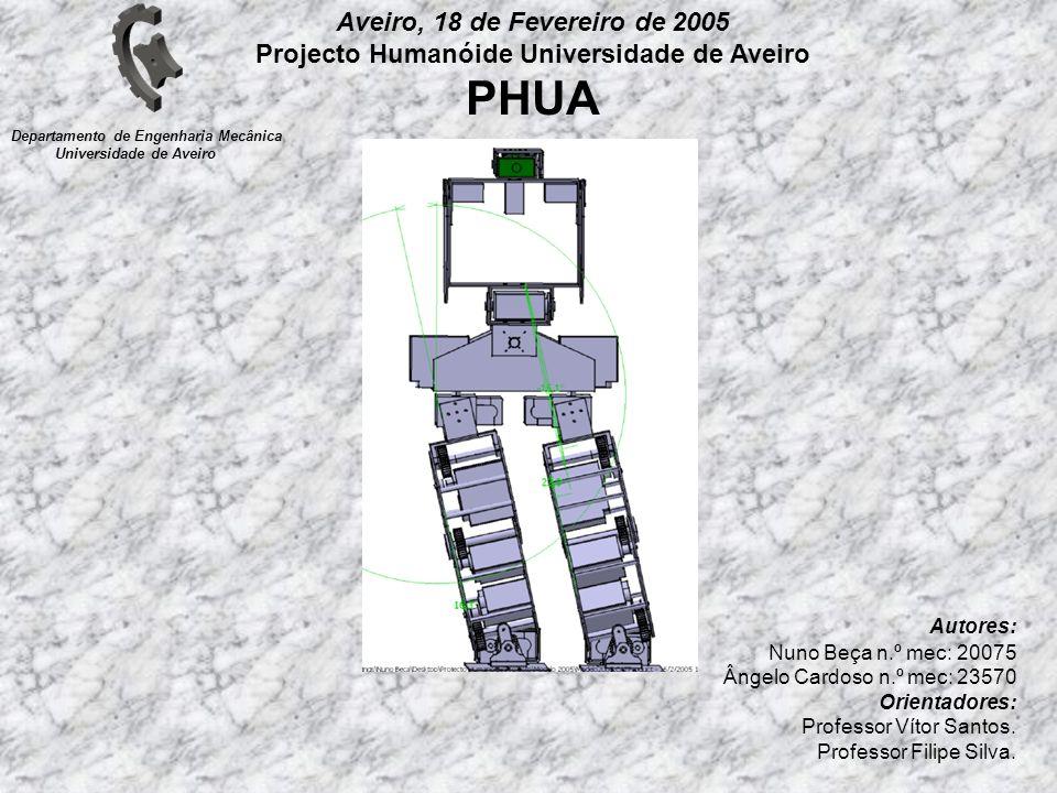 Autores: Nuno Beça n.º mec: 20075 Ângelo Cardoso n.º mec: 23570 Orientadores: Professor Vítor Santos. Professor Filipe Silva. Departamento de Engenhar