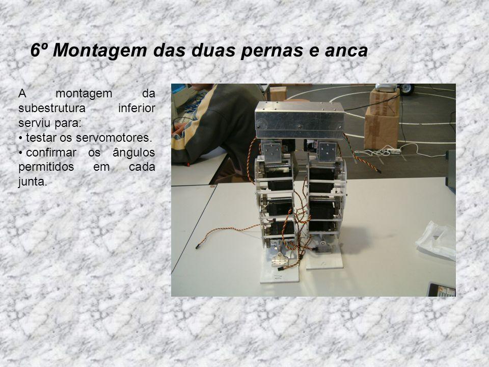 7º Estudo de soluções para o tronco e cabeça do robot.