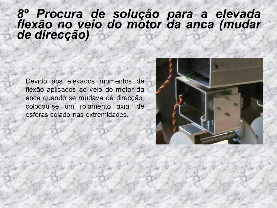 9º Procura de soluções para as baterias, para o robot ser autónomo As baterias devem ser: leves compactas elevada capacidade de carga fácil ligação (para fácil substituição) CARACTERISTICAS: 4LI-2400 (7.2V/mah) 4800; (Max Amp.**) 9.6; Dimensões (mm): 37 x 37 x 65; Peso( g):176