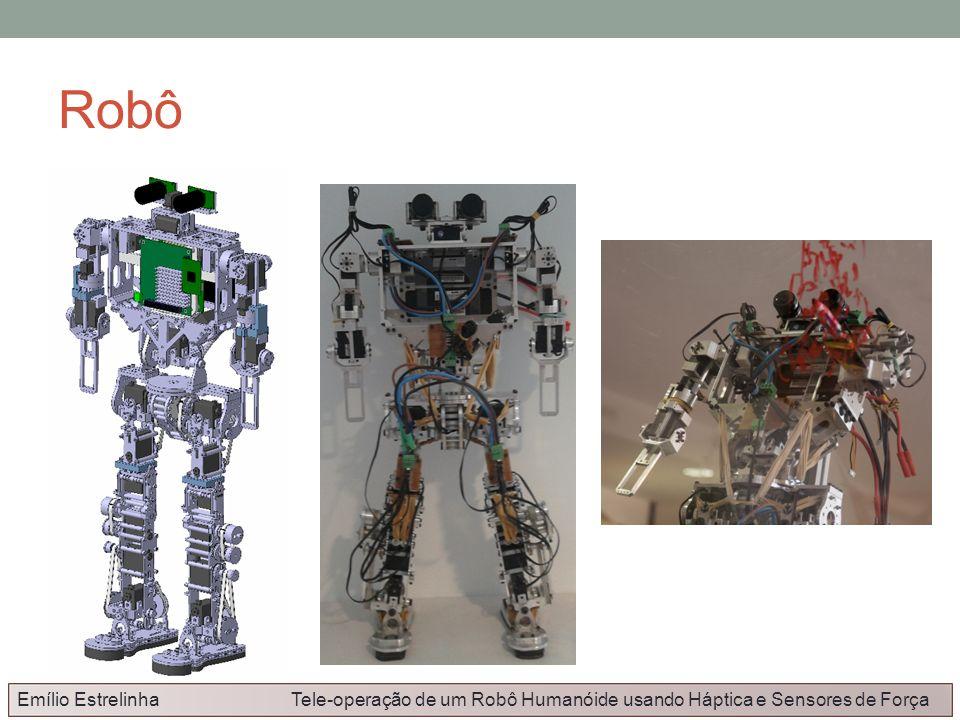 Robô Emílio Estrelinha Tele-operação de um Robô Humanóide usando Háptica e Sensores de Força