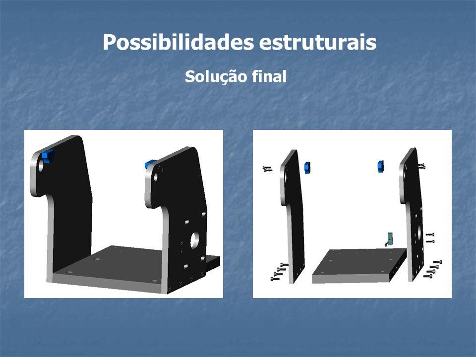 Possibilidades estruturais Solução final