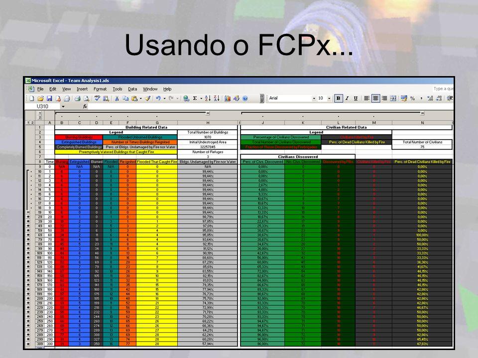 Usando o FCPx...