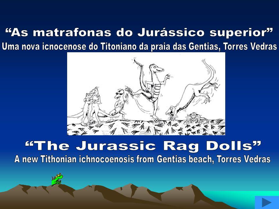 Para o Jurássico final existe uma notável icnocenose.