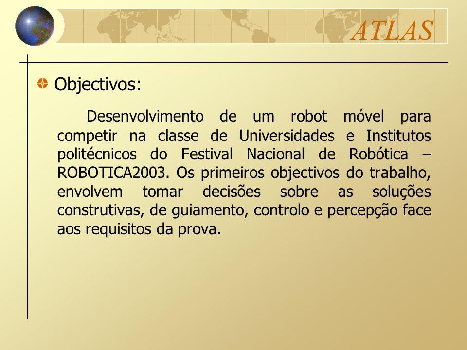 ATLAS Desenvolvimento de um robot móvel para competir na classe de Universidades e Institutos politécnicos do Festival Nacional de Robótica – ROBOTICA