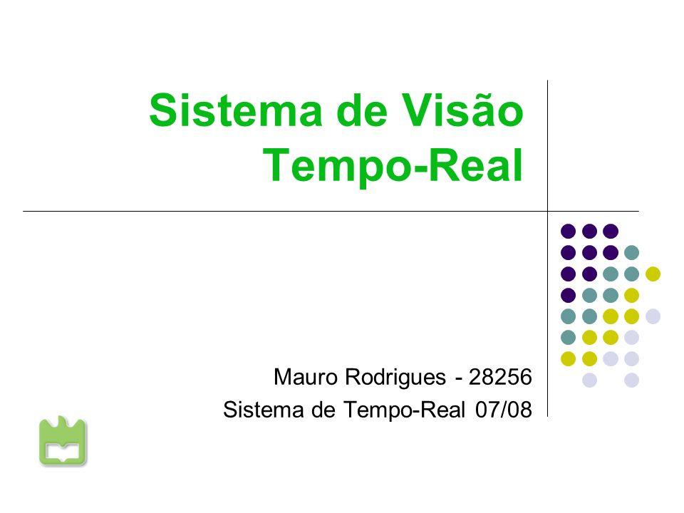 Sistema de Visão Tempo-Real Mauro Rodrigues 28256 17-12-2007 12 Escalonamento Precedências A tarefa de aquisição de imagem é a base do processo.