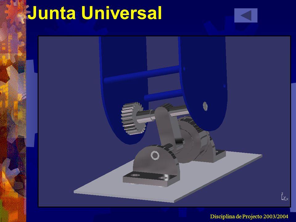 Disciplina de Projecto 2003/2004 Junta Universal