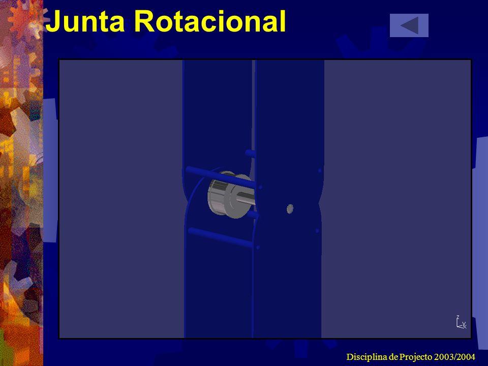 Disciplina de Projecto 2003/2004 Junta Rotacional