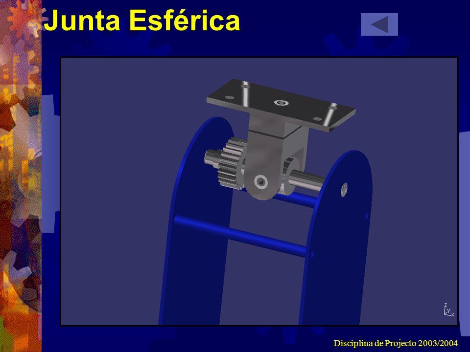 Disciplina de Projecto 2003/2004 Junta Esférica