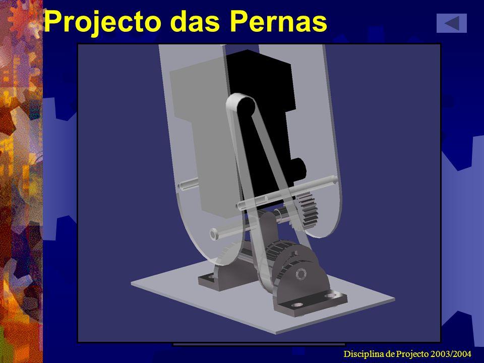 Disciplina de Projecto 2003/2004 Projecto das Pernas