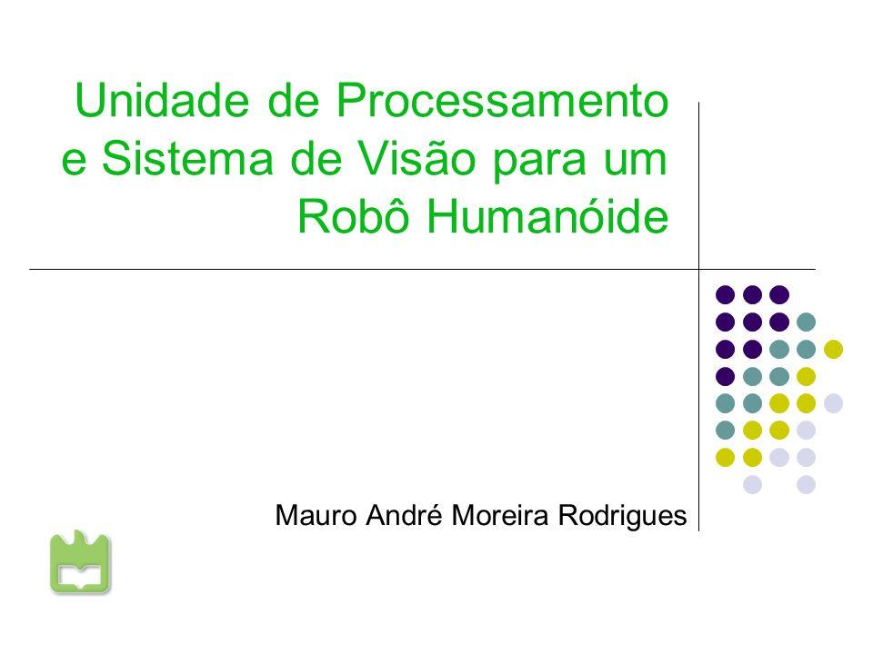 Unidade de Processamento e Sistema de Visão para um Robô Humanóide Mauro André Moreira Rodrigues Universidade de Aveiro