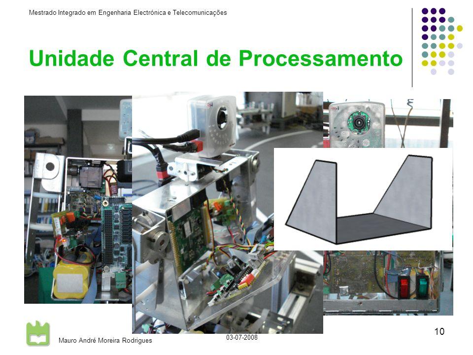 Mestrado Integrado em Engenharia Electrónica e Telecomunicações Mauro André Moreira Rodrigues 03-07-2008 10 Unidade Central de Processamento Alterações à estrutura