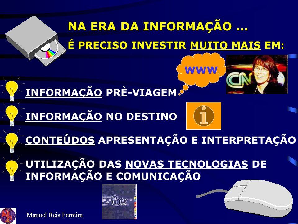 Manuel Reis Ferreira TURISMO CULTURAL EXPERIÊNCIAS CULTURAIS NO NÚCLEO DO PRODUTO CONTEÚDOS INFORMATIVOS E INTERPRETATIVOS CENTRADO NOS ATRACTIVOS DE