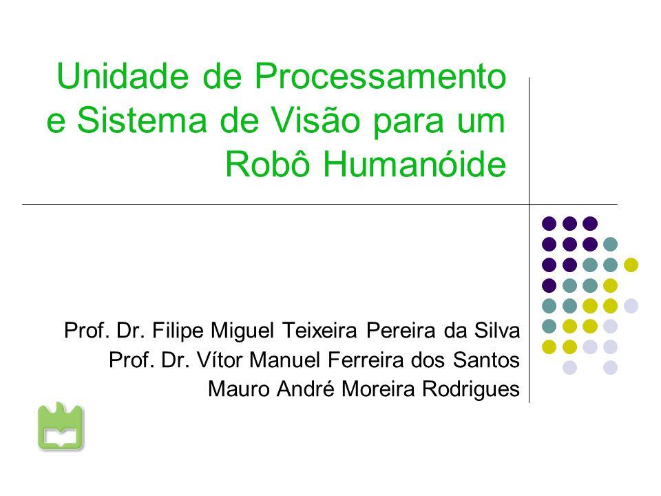 Unidade de Processamento e Sistema de Visão para um Robô Humanóide Prof. Dr. Filipe Miguel Teixeira Pereira da Silva Prof. Dr. Vítor Manuel Ferreira d