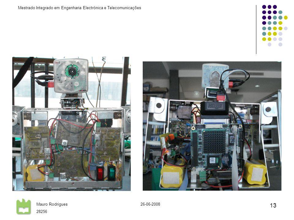 Mestrado Integrado em Engenharia Electrónica e Telecomunicações Mauro Rodrigues 28256 26-06-2008 13
