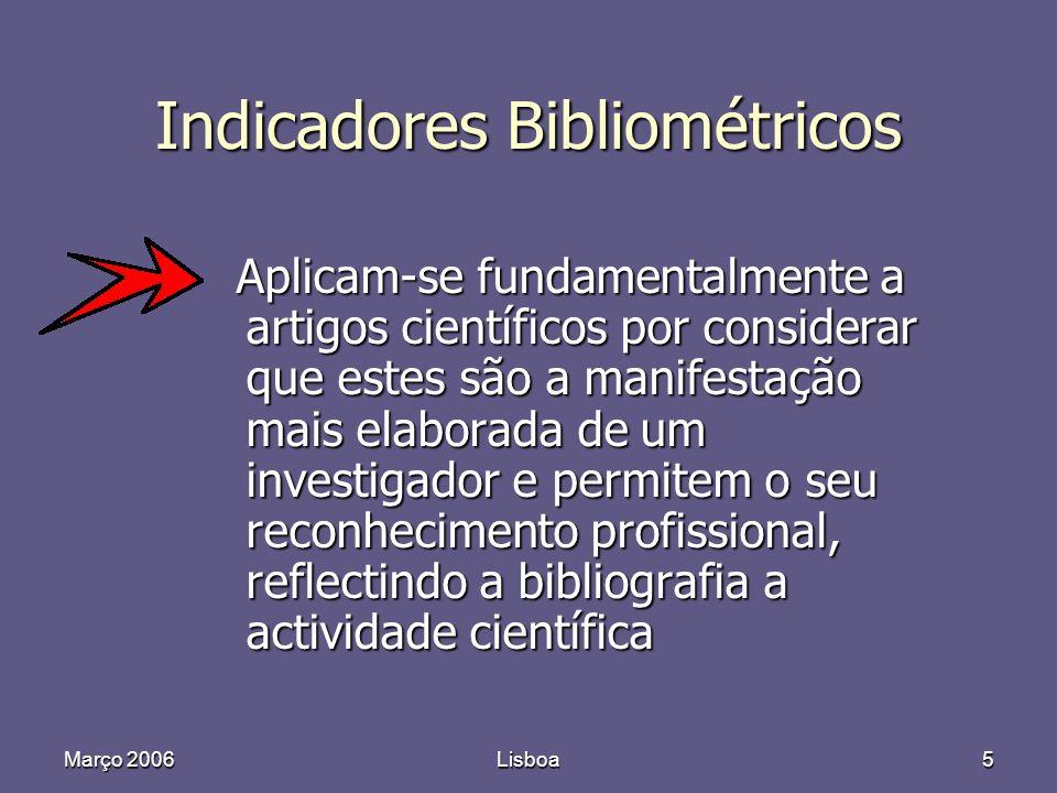 Março 2006Lisboa46 8524 232 ( 2,7% )
