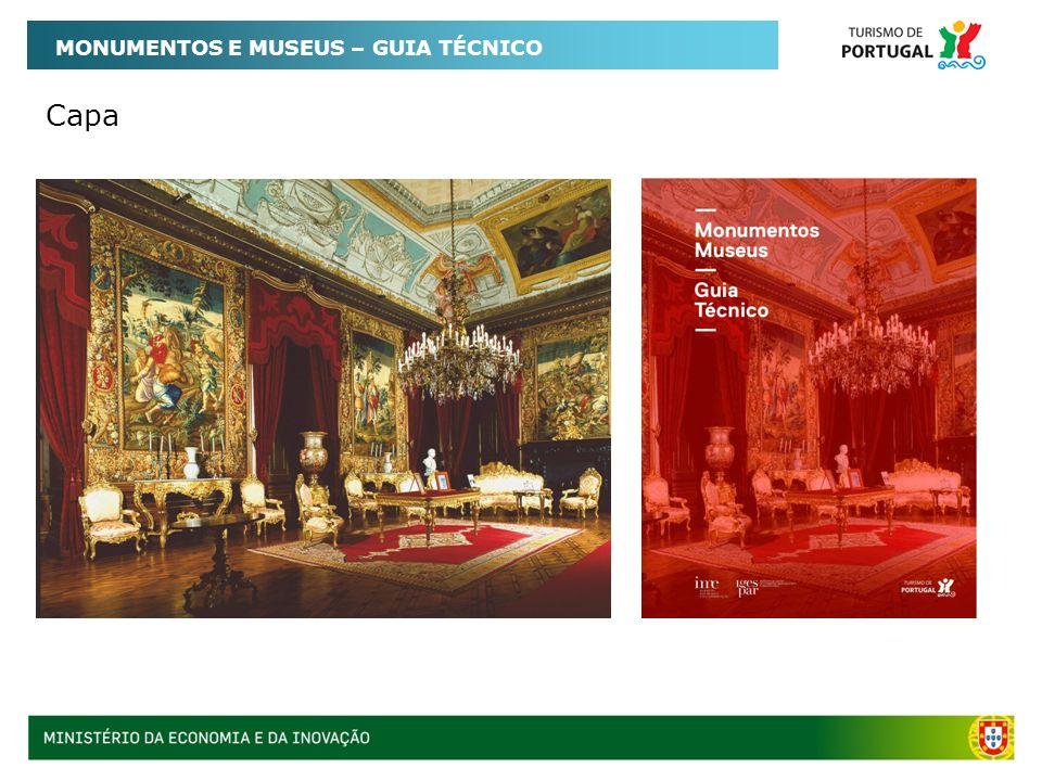Capa MONUMENTOS E MUSEUS – GUIA TÉCNICO