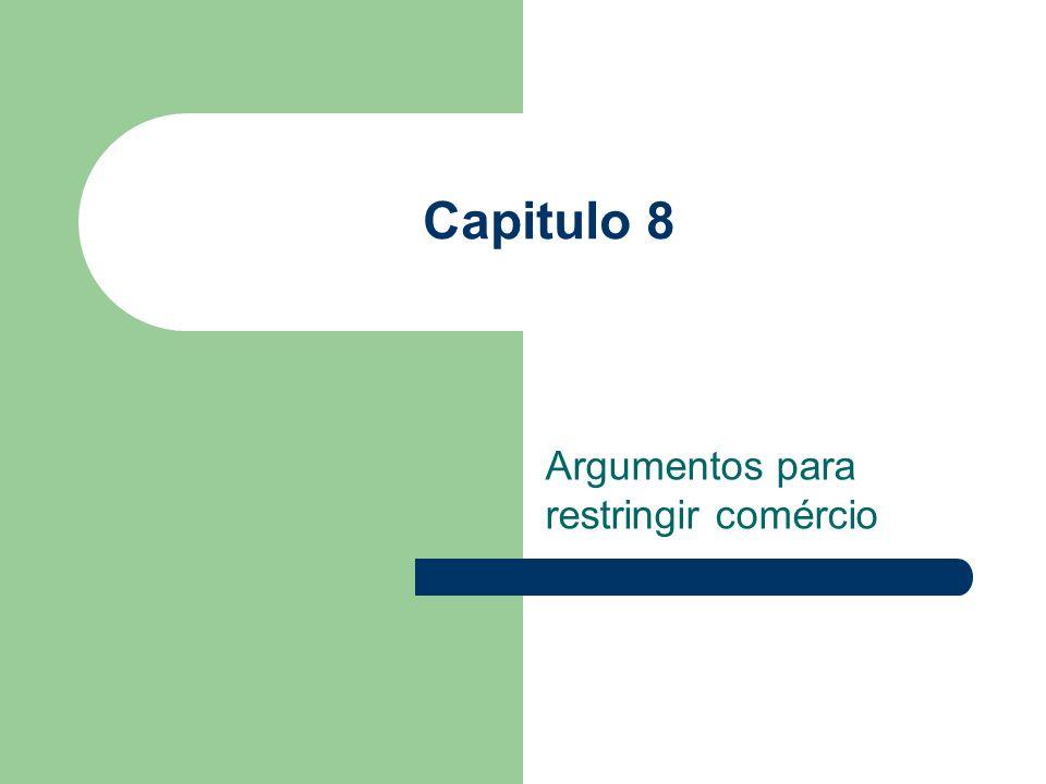 Acordos Preferenciais de Comércio Acordos Bilaterais; Áreas de Comércio Livre; Uniões Aduaneiras; – Criação de comércio; – Desvio de Comércio