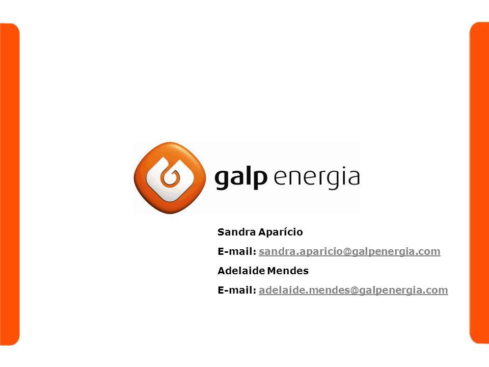 Sandra Aparício E-mail: sandra.aparicio@galpenergia.comsandra.aparicio@galpenergia.com Adelaide Mendes E-mail: adelaide.mendes@galpenergia.comadelaide