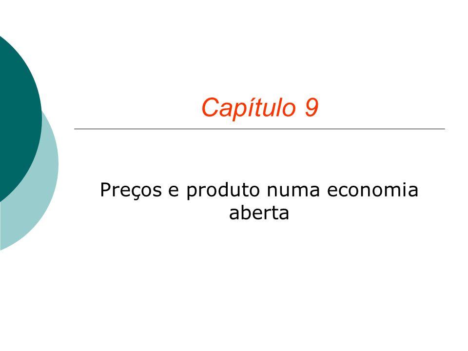 Capítulo 9 Preços e produto numa economia aberta