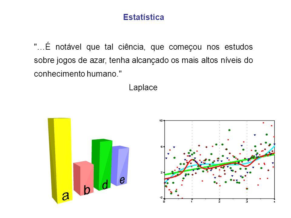 2 Desde o começo da civilização que a Estatística tem estado sempre presente: nos primórdios mais oculta e na actualidade mais visível.