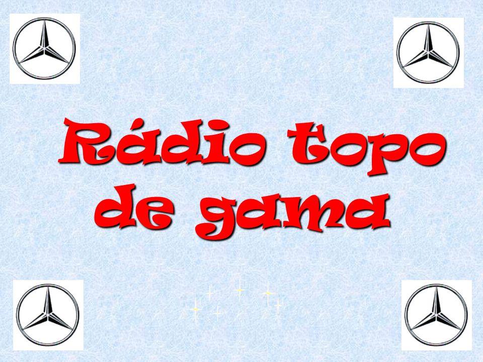 Rádio topo de gama Rádio topo de gama