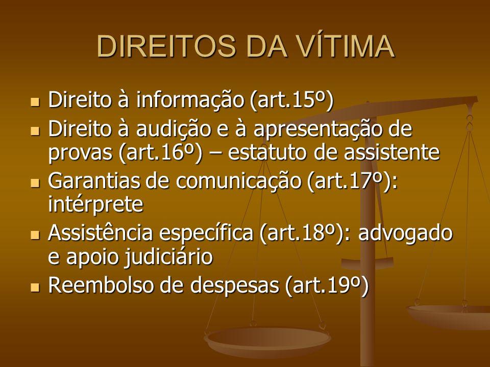 MEDIDAS DE COACÇÃO URGENTES – art.31º Novidade: cumprimento mediante vigilância electrónica.
