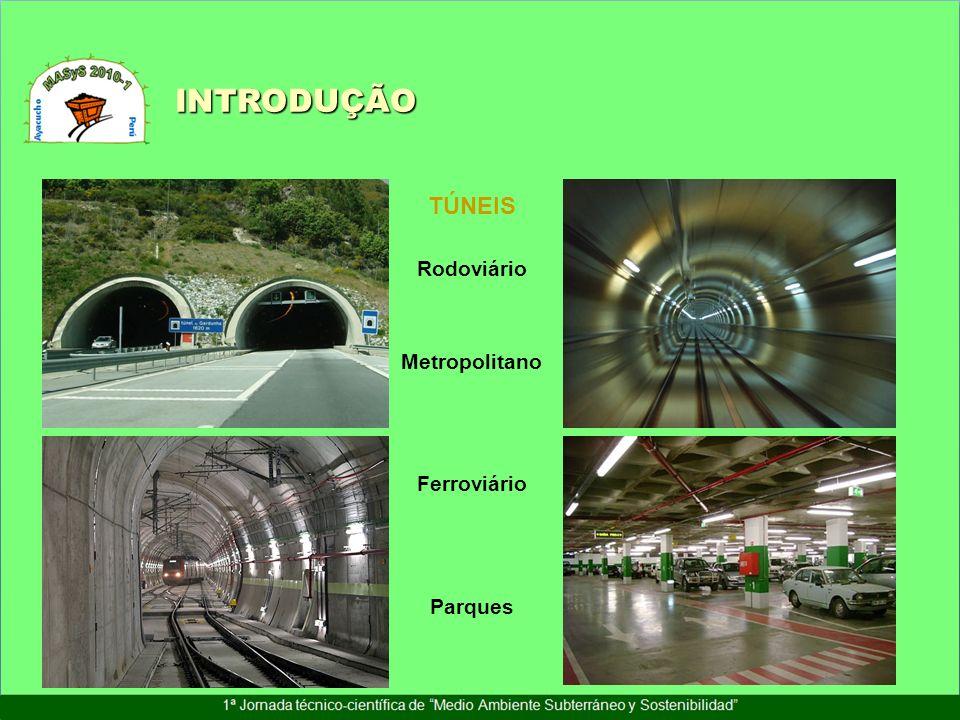 Crescente tendência na construção de túneis no mundo INTRODUÇÃO