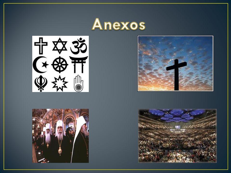 Com este trabalho nós aprendemos as religiões que se praticam no mundo.