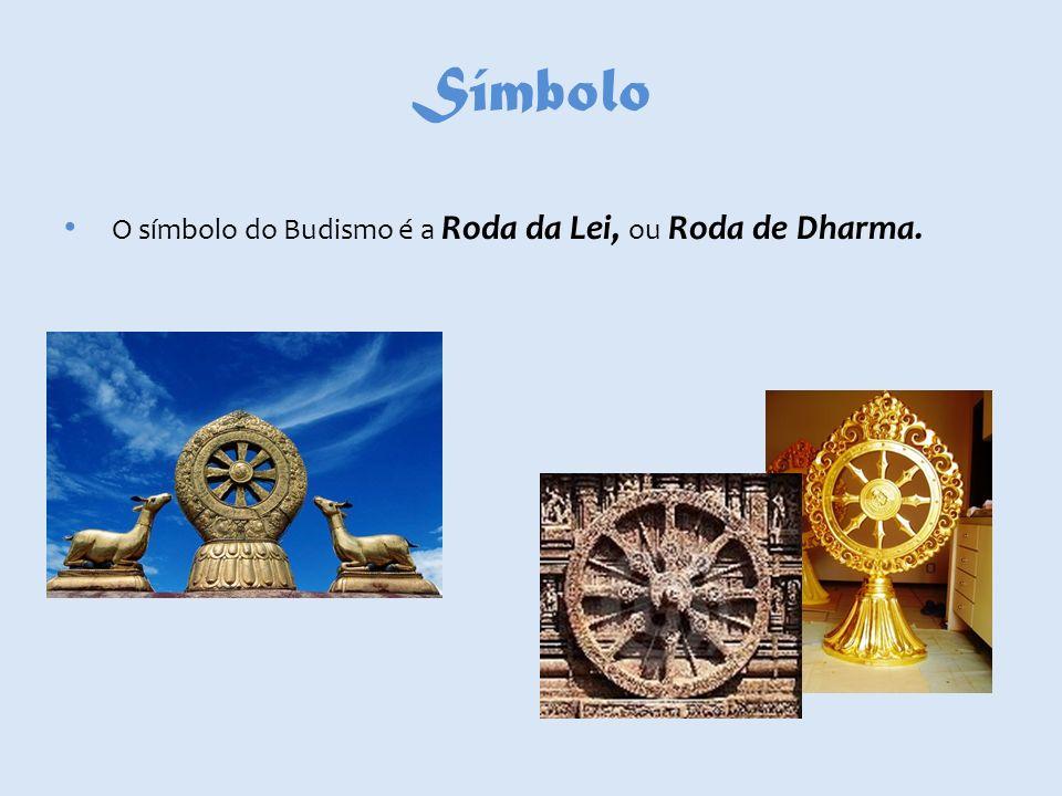 Significado do Símbolo Esta roda é uma espécie de leme com oito pontos que representa o movimento cíclico do tempo.