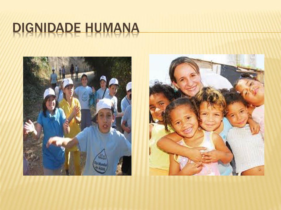 Introduçao-2 O que significa dignidade humana-3 O principio da dignidade humana-4 O valor da dignidade humana-5 Devemos ter respeito pela dignidade humana-6 A religião e um insulto para a dignidade humana-7 Conclusão-8 Bibliografia-9 1