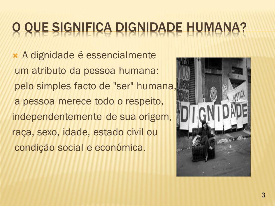 O principio da Dignidade da pessoa humana e um valor moral, espiritual e inerente à pessoa humana, ou seja todo o ser humano é dotado desse preceito, e tal constitui o principio maximo do estado democrático do direito.