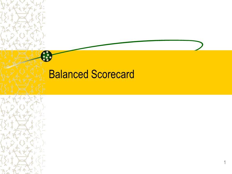 1 Balanced Scorecard