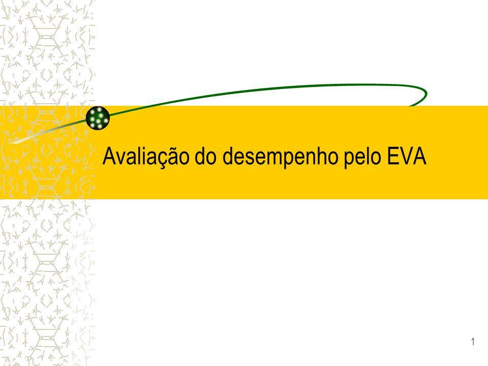1 Avaliação do desempenho pelo EVA