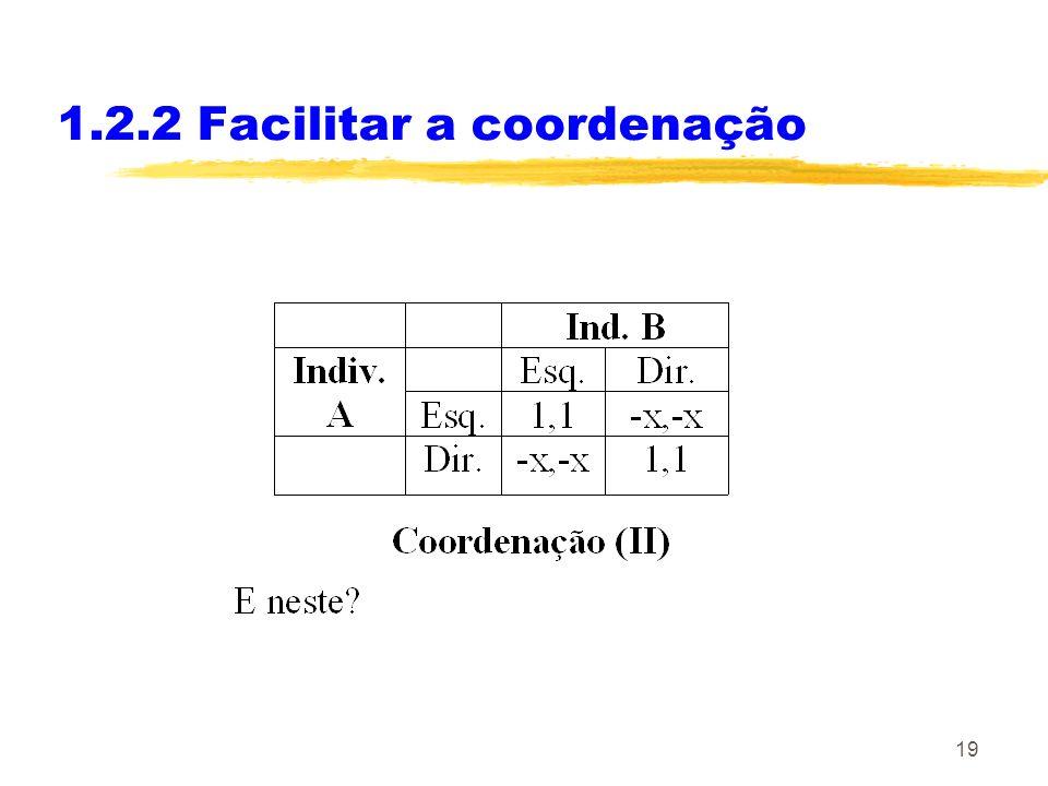 19 1.2.2 Facilitar a coordenação