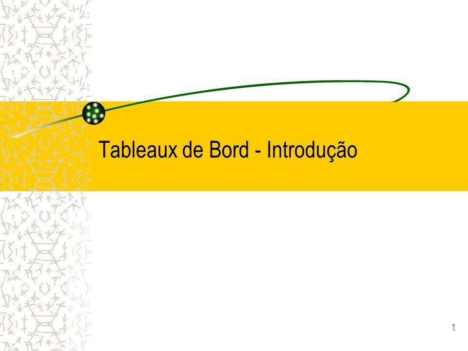 1 Tableaux de Bord - Introdução
