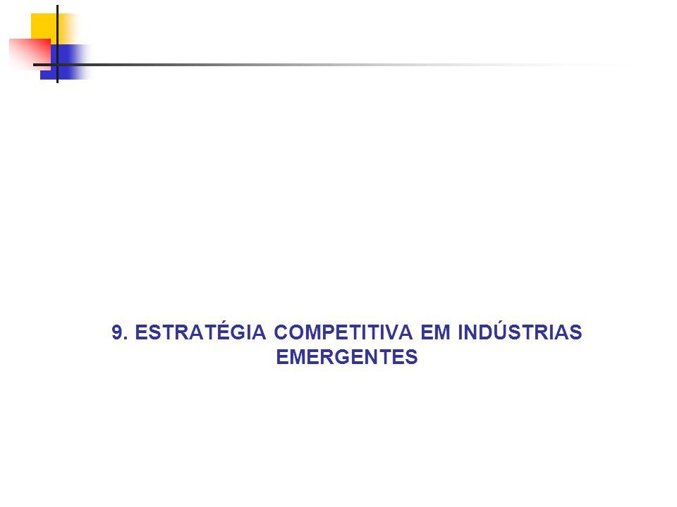 9. ESTRATÉGIA COMPETITIVA EM INDÚSTRIAS EMERGENTES