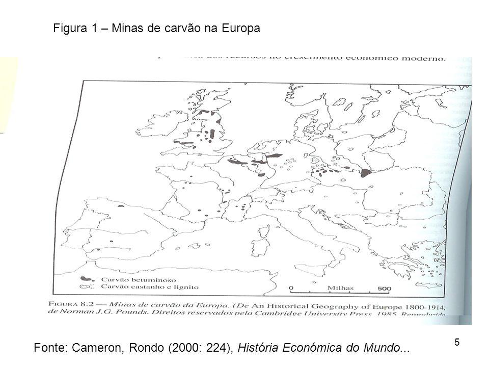 5 Fonte: Cameron, Rondo (2000: 224), História Económica do Mundo...