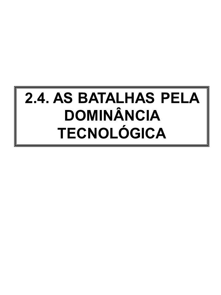 Fonte: Fernando Suarez (2004), Battles for technological dominance: an integrative framework, Research Policy, Vol.