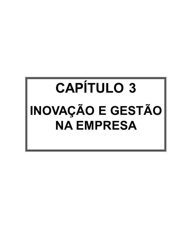 CAPÍTULO 3 INOVAÇÃO E GESTÃO NA EMPRESA