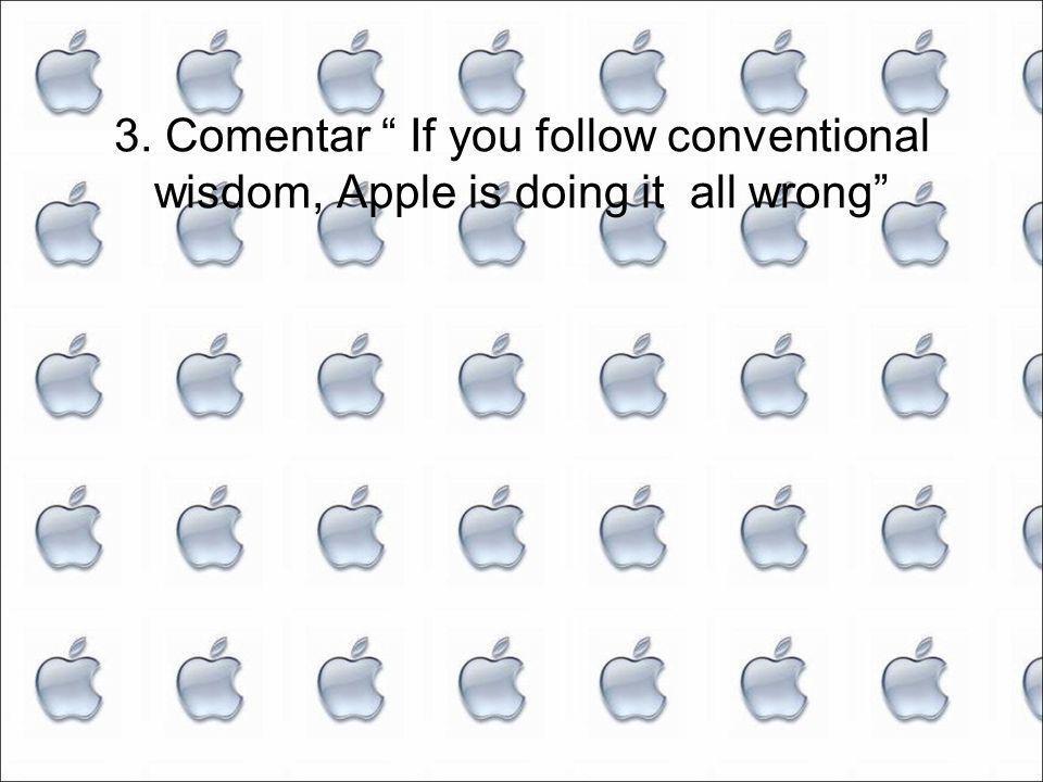 Visão tradicional Americana Não fazer tudo Inovação através de competição aberta Apple Tenta fazer tudo Não partilha conhecimento Comentário