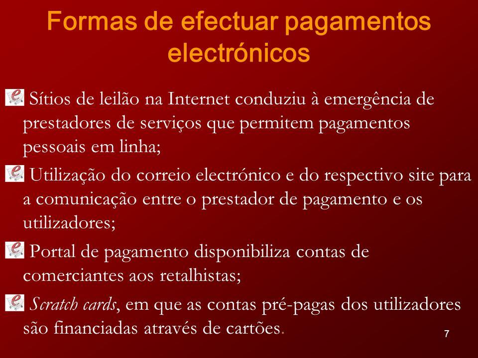 18 MBNet Serviço inovador, disponibilizado pela SIBS, Unicre e por grande parte dos bancos que exercem actividade em Portugal, para a realização de compras com seu cartão (débito ou crédito), em qualquer loja virtual nacional ou estrangeira, pela Internet, telefone, e-mail ou fax, com garantias acrescidas de segurança.