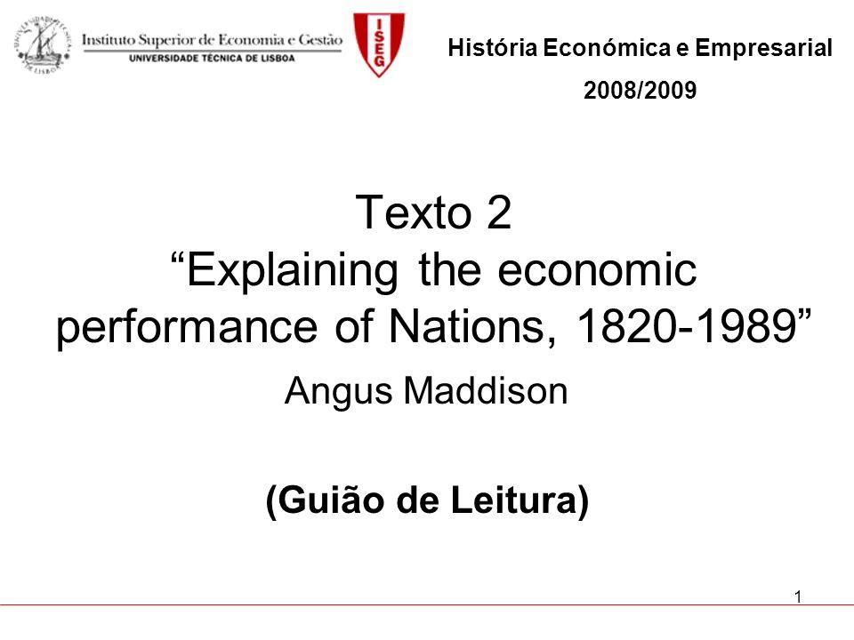 2 Tópicos a considerar na leitura do texto 1.
