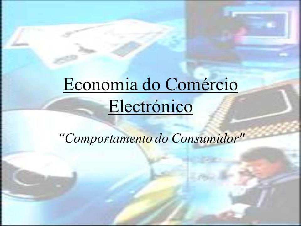 2 Comportamento do Consumidor Introdução Nova Economia vs Velha Economia; Vantagens e Desvantagens do e-commerce; Legislação e Regulação do Comércio Electrónico; Protecção e Segurança do Consumidor Evolução do Comércio Electrónico em Portugal Perspectivas e Tendências