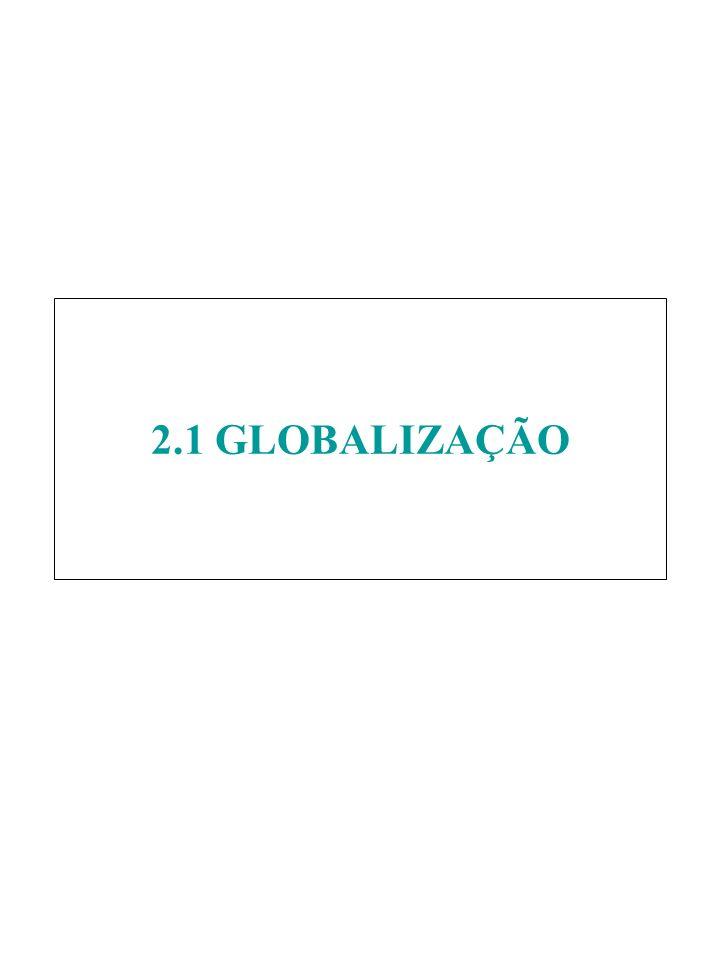 2.1 GLOBALIZAÇÃO