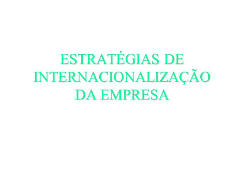 18 Fev Apresentação.Introdução. ----- 25 Fev A Envolvente Internacional da Empresa Bic 03 Mar.