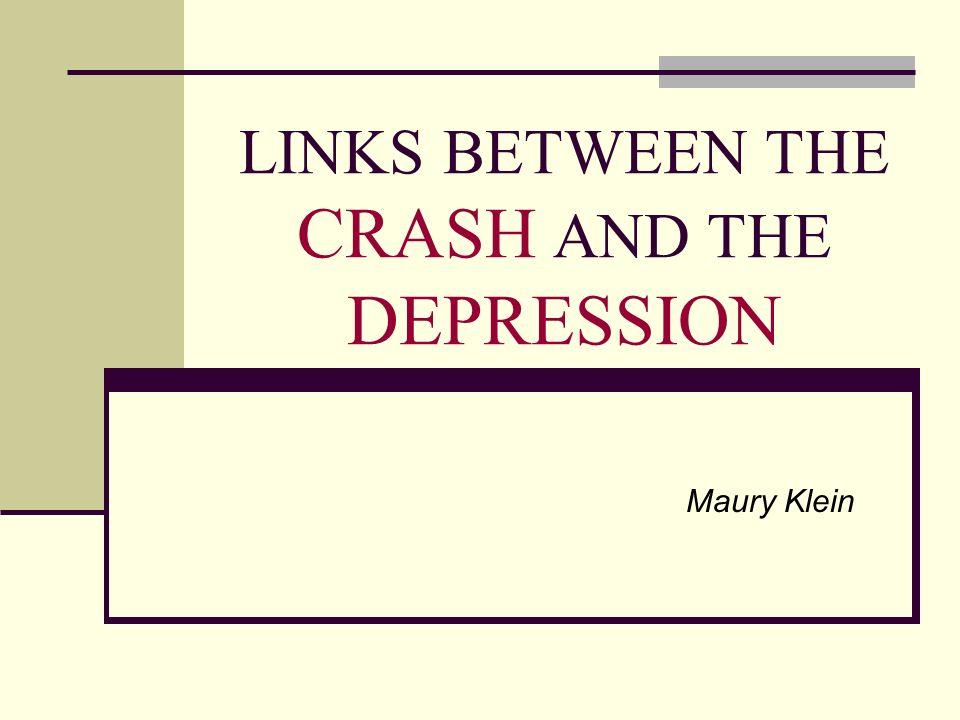 Diferentes causas da depressão segundo alguns importantes autores OS MONETARISTAS Dão muita importância as forças monetárias Contracção da procura monetária entre 1929- 33 (Friedman) Instabilidade dos metais como o ouro (Fisher) Medo à deflacção Pânico bancário (Temin)
