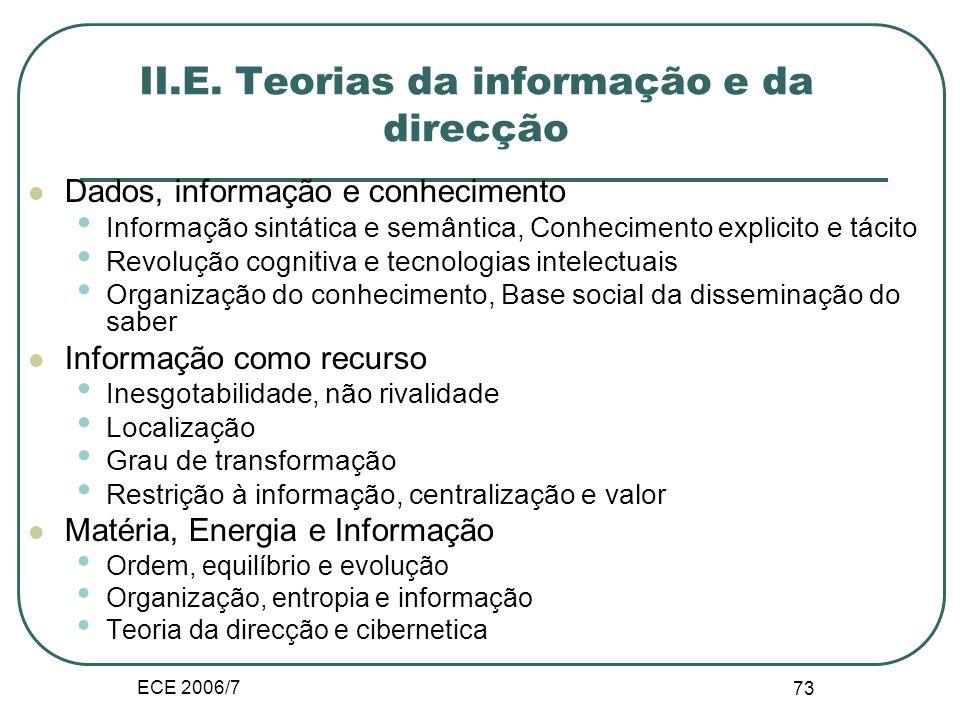 ECE 2006/7 SAP 72 Transformação nas Organizações Objectivo 1 Objectivo 2 Objectivo 3 Papel 1 Papel 3 Papel 2 Etapa 3 Etapa 2Etapa 1 Etapa 3 Etapa 2 Et