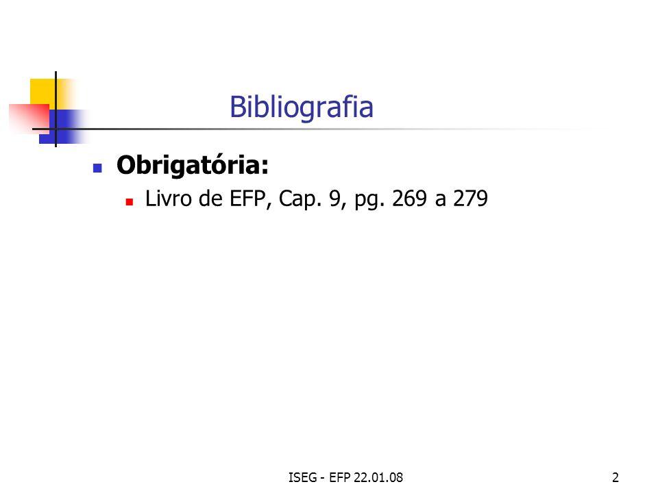 ISEG - EFP 22.01.0813 I.R. S.