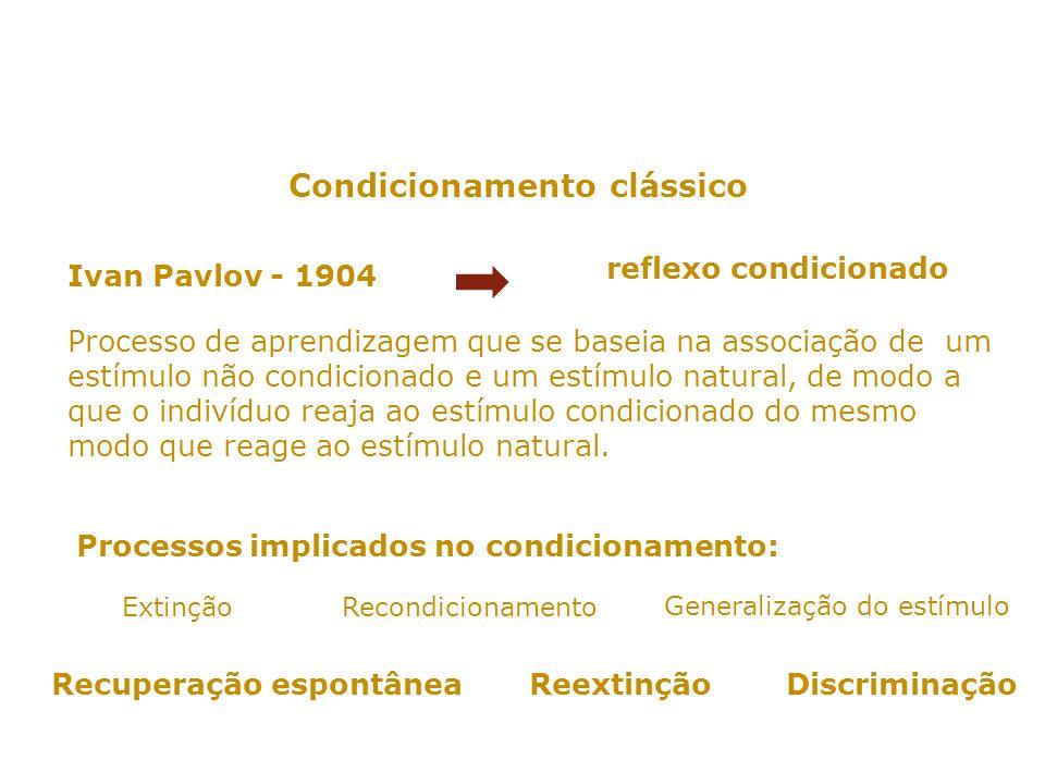 AS EXPERIÊNCIAS DE PAVLOV HTTP://WWW.YOUTUBE.COM/WATCH?GL=BR&HL=PT&V=YHY ZJL-NI7U HTTP://WWW.YOUTUBE.COM/WATCH?V=V6EU9PMDEDQ&FEA TURE=RELATED (PAVLOVIANA) HTTP://WWW.YOUTUBE.COM/WATCH?V=FMJJPBRX_O8&FEAT URE=RELATED (BD SOBRE CONDICIONAMENTO CLÁSSICO PAVLOV) HTTP://WWW.YOUTUBE.COM/WATCH?V=BNBAU6FL8S8&FEAT URE=PLAYER_EMBEDDED (BEBÉ RESPONDE A ESTÍMULO) HTTP://WWW.YOUTUBE.COM/WATCH?V=EHNSVMXT7RW&FE ATURE=RELATED HTTP://WWW.YOUTUBE.COM/WATCH?GL=BR&HL=PT&V=YHY ZJL-NI7U HTTP://WWW.YOUTUBE.COM/WATCH?V=V6EU9PMDEDQ&FEA TURE=RELATED HTTP://WWW.YOUTUBE.COM/WATCH?V=FMJJPBRX_O8&FEAT URE=RELATED HTTP://WWW.YOUTUBE.COM/WATCH?V=BNBAU6FL8S8&FEAT URE=PLAYER_EMBEDDED HTTP://WWW.YOUTUBE.COM/WATCH?V=EHNSVMXT7RW&FE ATURE=RELATED